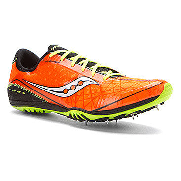 Men's Saucony Shay XC3 Spike •Vizipro/Black/CitronShoe• - ShooDog.com