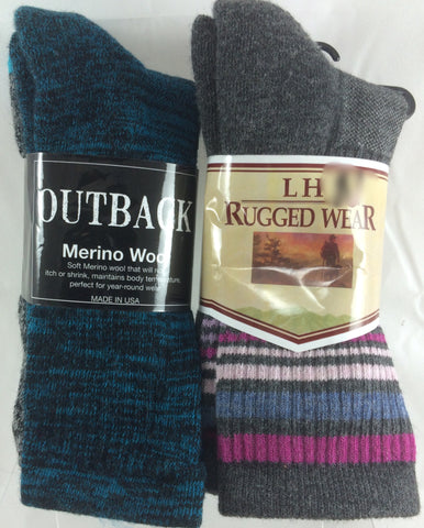 82% 'Merino Wool' Women's Socks