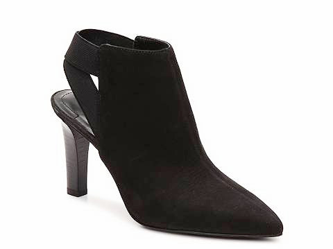 Womens Tahari -Kicks- Black Nubuck Bootie - ShooDog.com