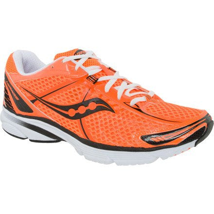 Men's Saucony ProGrid Mirage •Viz Orange/Black• Running Shoe - ShooDog.com