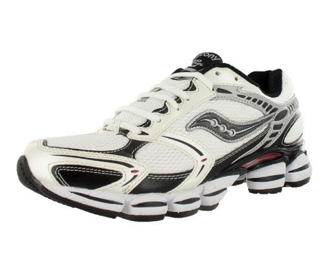 Men's Saucony Grid Propel Plus 2 •White/Black/Red• Running shoes