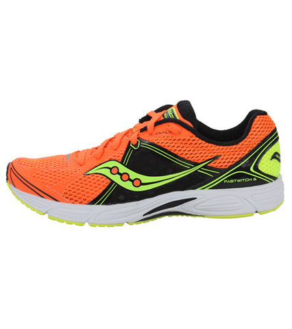 Men's Saucony Grid Fastwitch 6 •Orange/Black/Citron• Racing Shoes - ShooDog.com