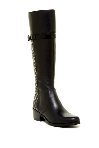 TAHARI Women's •Killan• Knee-high Boot - Black - ShooDog.com