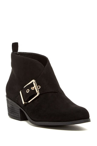 ELLEN TRACY Women's •Rowe•  Ankle  Buckle Bootie - ShooDog.com