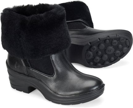 BIONICA Women's •Rumer• Shearling Fold-over Boot - ShooDog.com