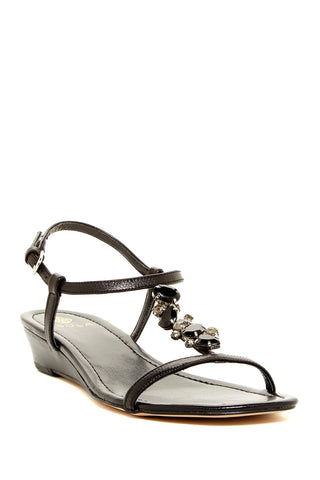 "ISOLA Women's ""Trista"" T-strap Jeweled Sandal"