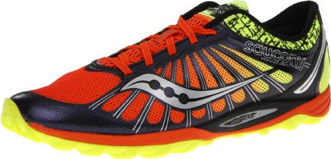Mens Saucony Kinvara TR2 - Navy/Citron/Orange - - ShooDog.com