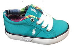 POLO RALPH LAUREN Toddler •Giles• Canvas Sneaker - ShooDog.com