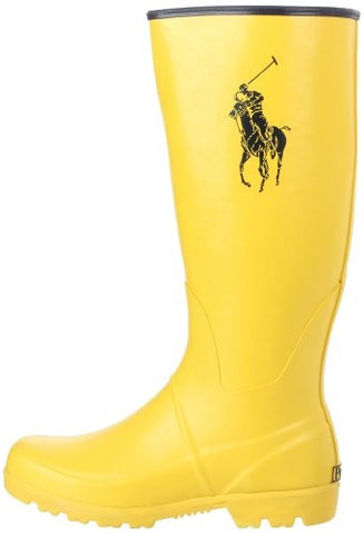 Polo Ralph Lauren •Proprietor• Large Pony Rain Boot - Fits Women/Big Kid