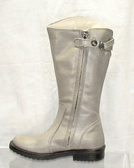 Toddler Girl's Primigi Tall Boot- Taupe Grey -