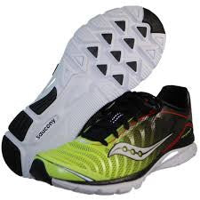 Men's Saucony  ProGrid Kinvara 3 •Black/Citron• Running Shoe - ShooDog.com