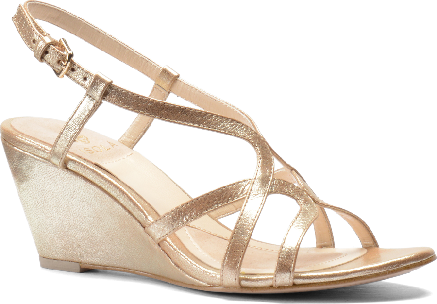 Isola Women's •Fidelia•  Wedge Sandal - ShooDog.com