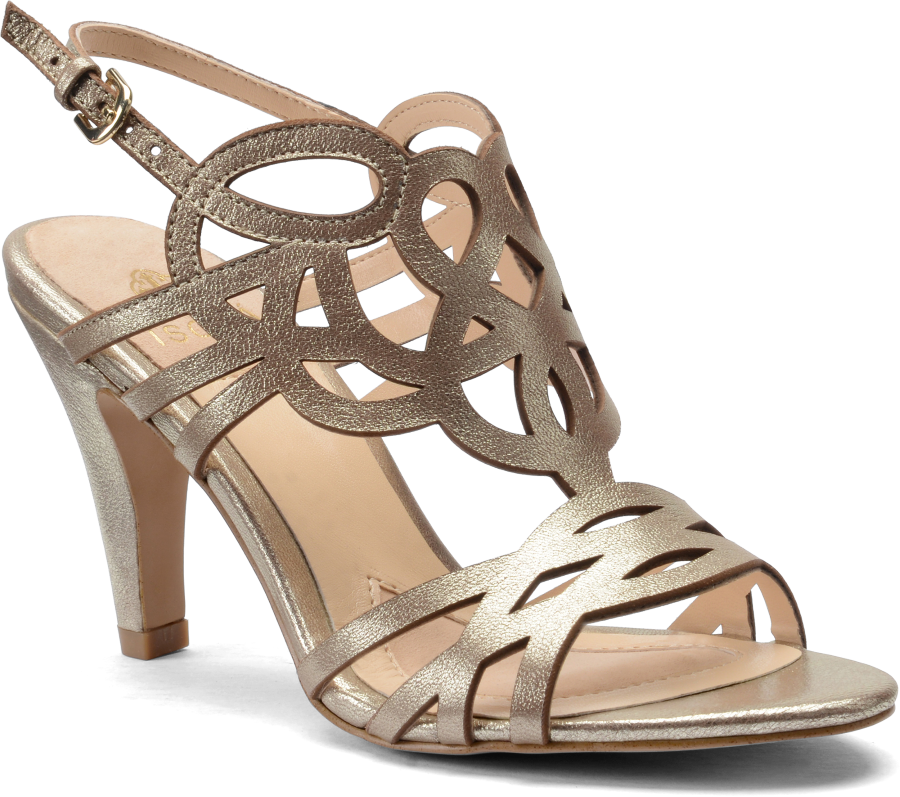 Isola Women's •Delano•  Stacked Heel Sandal - ShooDog.com