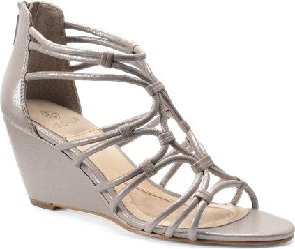 Isola Women's •Floral•  Wedge Sandal