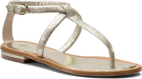 Isola Women's •Mackenzie• Studded-Toe Thong Sandal