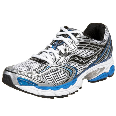 Men's Saucony Progrid Guide 3 •White/Blue•  Running Shoe - Wide Width