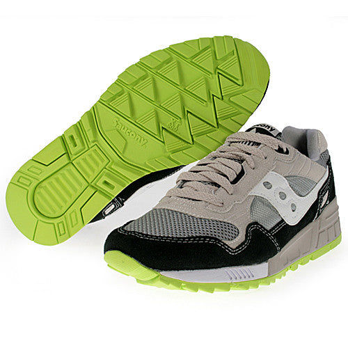 huge selection of b363a a8844 Men's Saucony Shadow 5000 •Grey/Black/Green• Running Shoe