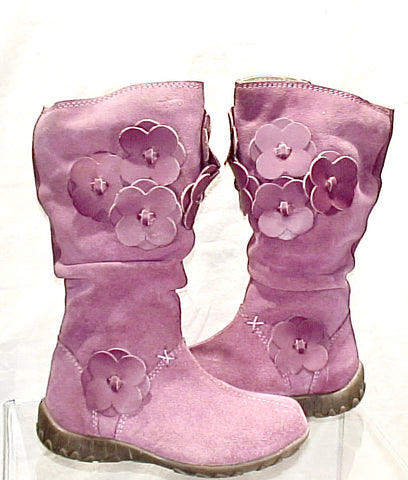 Girl's Primigi Flower-Power Tall Boot  - Rose Pink -
