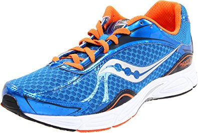 Men's Saucony Grid Fastwitch 5 •Orange/Blue • running shoes - ShooDog.com