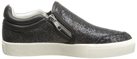 Ash Women's Intense Bis Fashion Sneaker  -Black Twinkle-