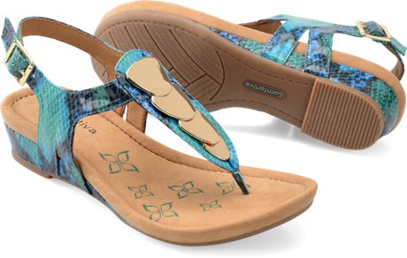 COMFORTIVA Women's •Summit• Thong Sandal - Medium & Wide Widths