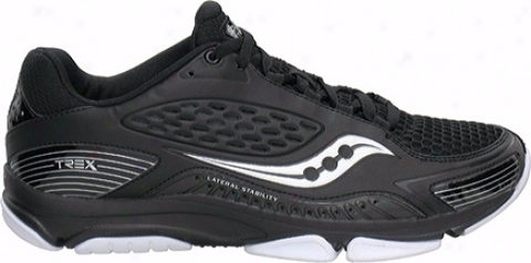 Men's Saucony ProGrid Trex Cross •Black/Silver/White• Training Shoe - ShooDog.com