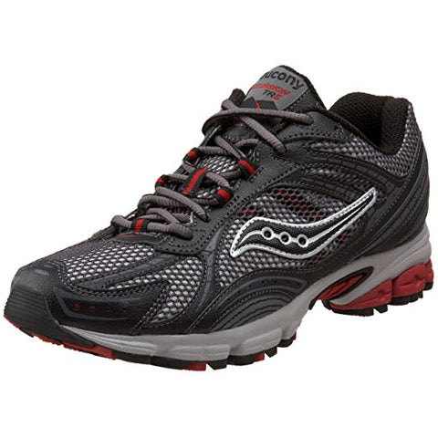 Men's Grid Excursion TR5  •Red/Grey/Black• Trail Running Shoe
