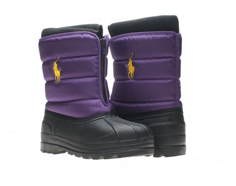 POLO RALPH LAUREN VANCOUVER Zip Snow Boots   •Purple•