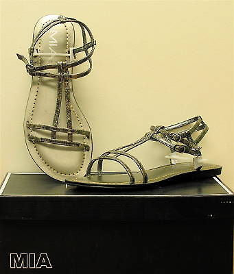 MIA Women's Capella Sandals - Pewter - - ShooDog.com