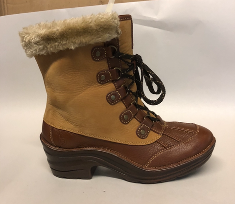 BIONICA Women's •Rosemount• Weatherproof Boot - Size 8 - Honey/Whiskey Leather - ShooDog.com