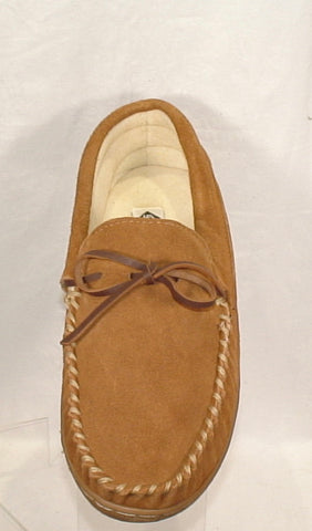 Men's  Slippers International •Skipper• Suede Moccasin