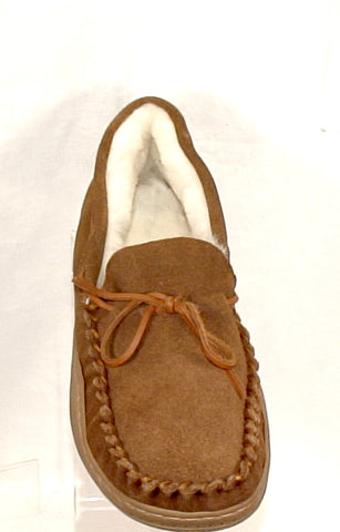 Men's Tamarac by Slippers International •Eddie• Fleece-lined Suede Moccasin