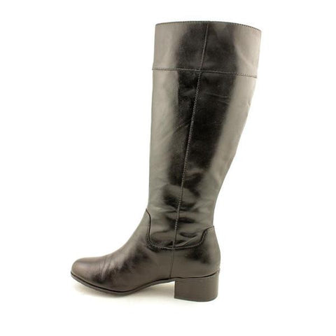 Ellen Tracy Women's 'Success'  Boots -Black Leather- - ShooDog.com