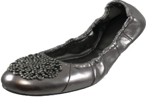 "TAHARI Women's ""Valerie""Leather Ballet Flat - ShooDog.com"