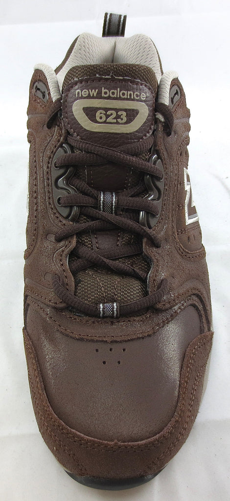 Mens New Balance 623 Sg Brown Nu Buck Non Slip Sole