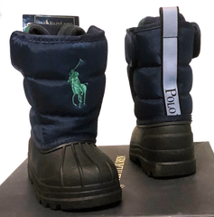 POLO RALPH LAUREN Toddler •X-12• EZ Snow boots