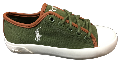 POLO RALPH LAUREN Kids •Ferguson Low• Canvas Sneaker