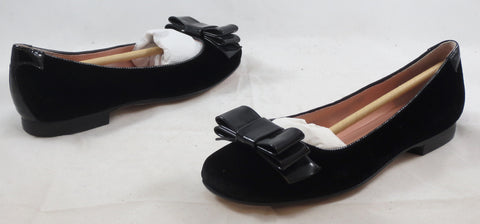 TARYN ROSE Women's Bettie Flat - Black - 6M - ShooDog.com