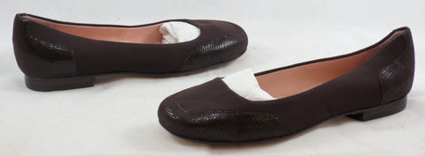 TARYN ROSE Women's Barrington Flat -Chocolate - 6M - ShooDog.com
