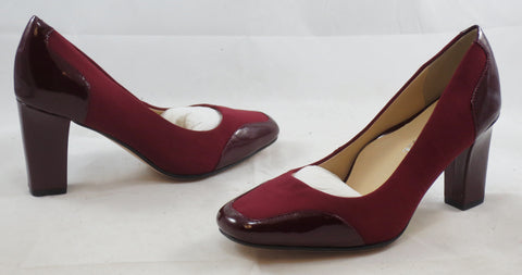 TARYN ROSE Women's Cambridge Pump - Merlot - 6M