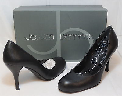 JESSICA BENNETT Women's Kinley Pump - Black Sz 7 & 7.5 Only - NIB - MSRP $130 - ShooDog.com