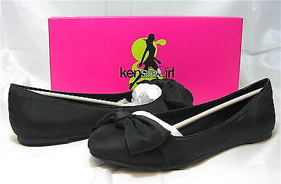 KENSIE GIRL Women's Kansas2 Flat - Black - Multiple SZ NIB - MSRP $45!