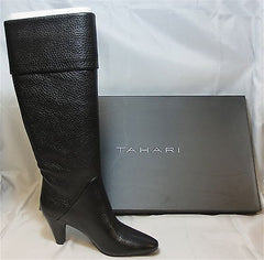 TAHARI Women's Gentry Tall Boot - Black -