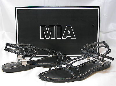 MIA Women's Capella Sandal - Black - Multiple SZ - NIB - MSRP $40! - ShooDog.com