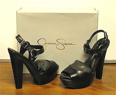 JESSICA SIMPSON Women's •Nutella• High-Heeled Platform Sandal - ShooDog.com