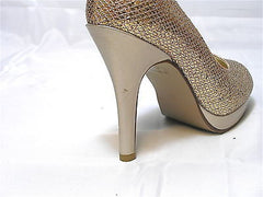 TOUCH UPS by Benjamin Walker Women's Candice - Champagne - 7M - NIB - MSRP $75! - ShooDog.com