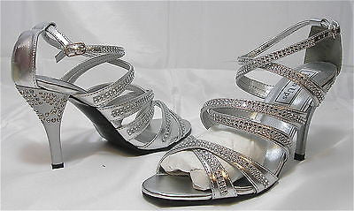 TOUCH UPS by Benjamin Walker Women's Mitzi - Silver - Multiple SZ NIB - MSRP $75 - ShooDog.com