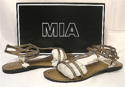 MIA Women's Capella Sandal - Bronze - Multiple SZ - NIB - MSRP $40 - ShooDog.com