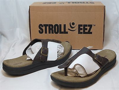 STROLL EEZ Women's Vail Sandal - Brown - Sz 12M Only - NIB - MSRP $89 - ShooDog.com