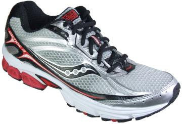 SAUCONY Men's Grid Ignition 3 -SILVER/RED/BLACK- Running shoe - ShooDog.com